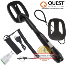 Quest Deteknix Scuba Tector BLACK NEW обновлённая версия